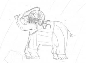 Elephant Inspired By Hideki Matsui