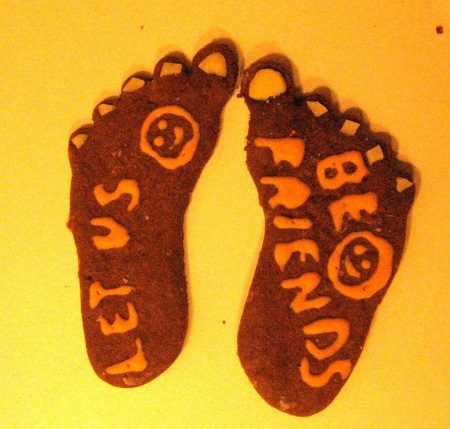 Gingerbread Feet